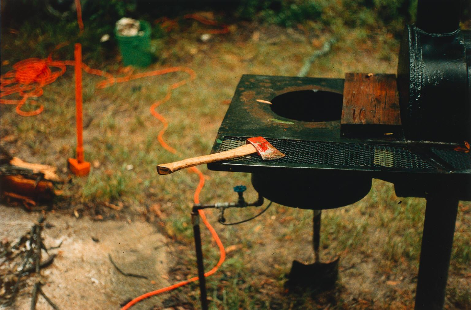 eggleston-1983-1986-s-TheDemocraticForest-axe