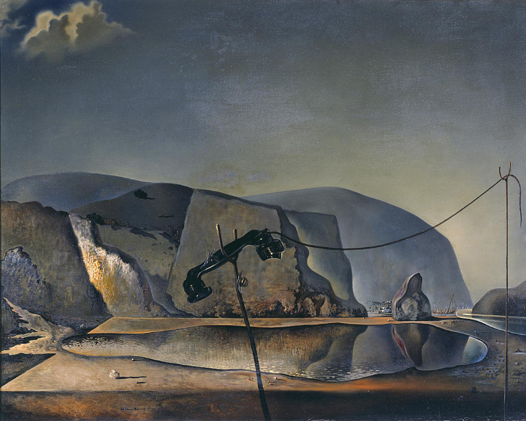 MountainLake1938-SalvadorDali