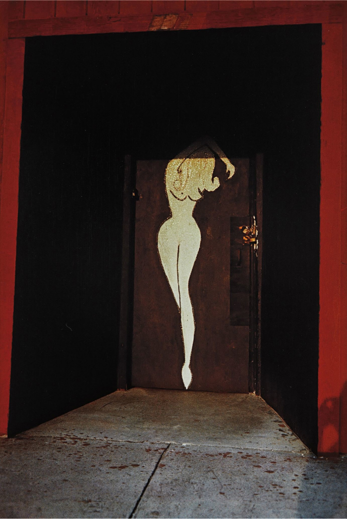 WilliamEggleston-Untitled-RedDoorway-1972