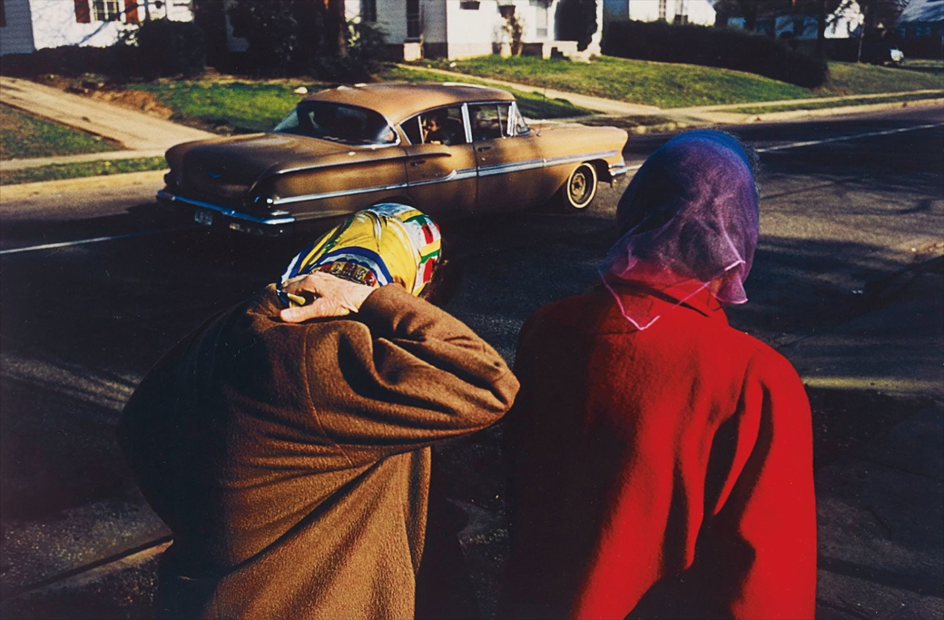 WilliamEggleston-Untitled-TwoWomenWearingHeadScarvesMemphis--1970s