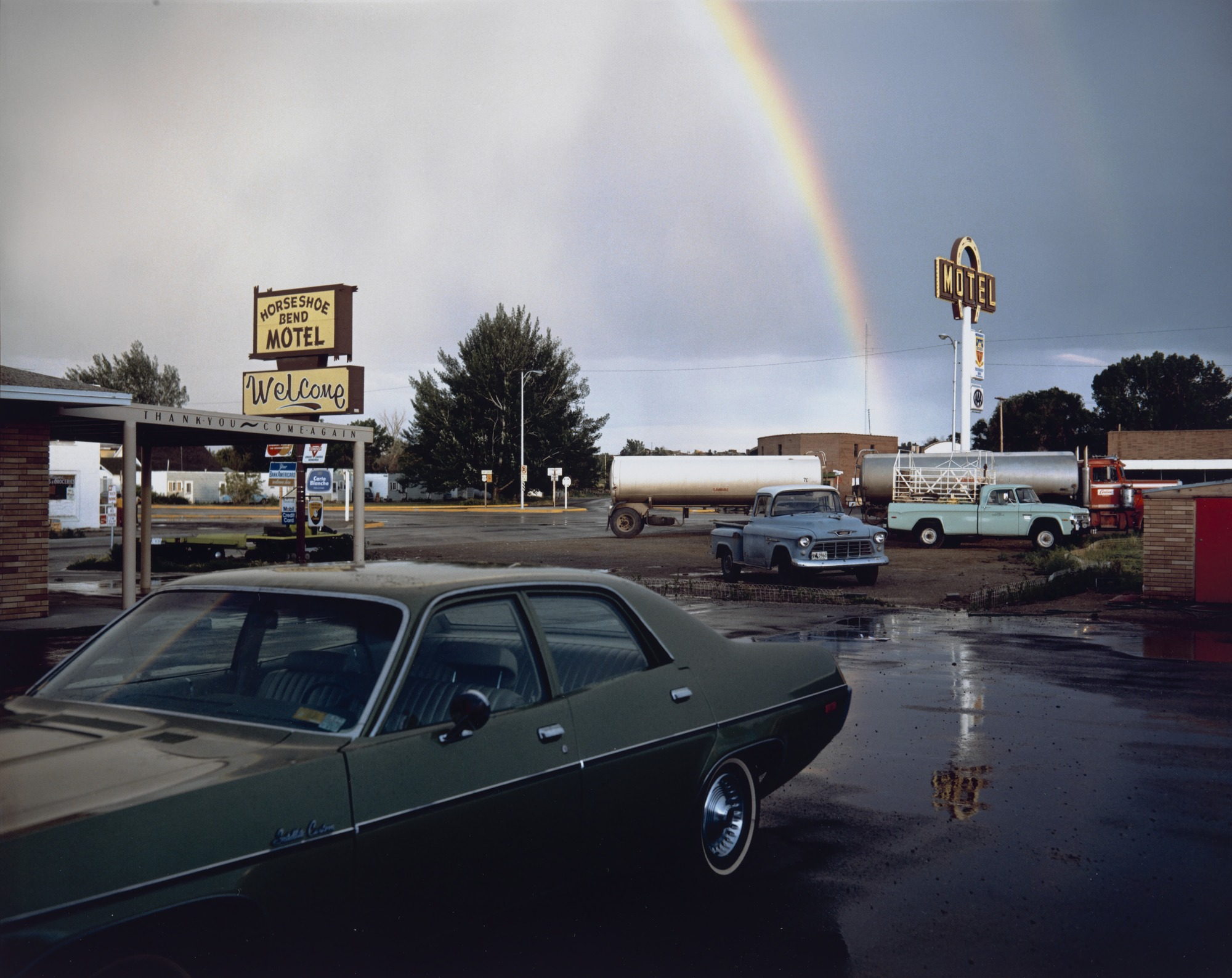 StephenShore-HorseshoeBendMotel-LovellWyoming1973
