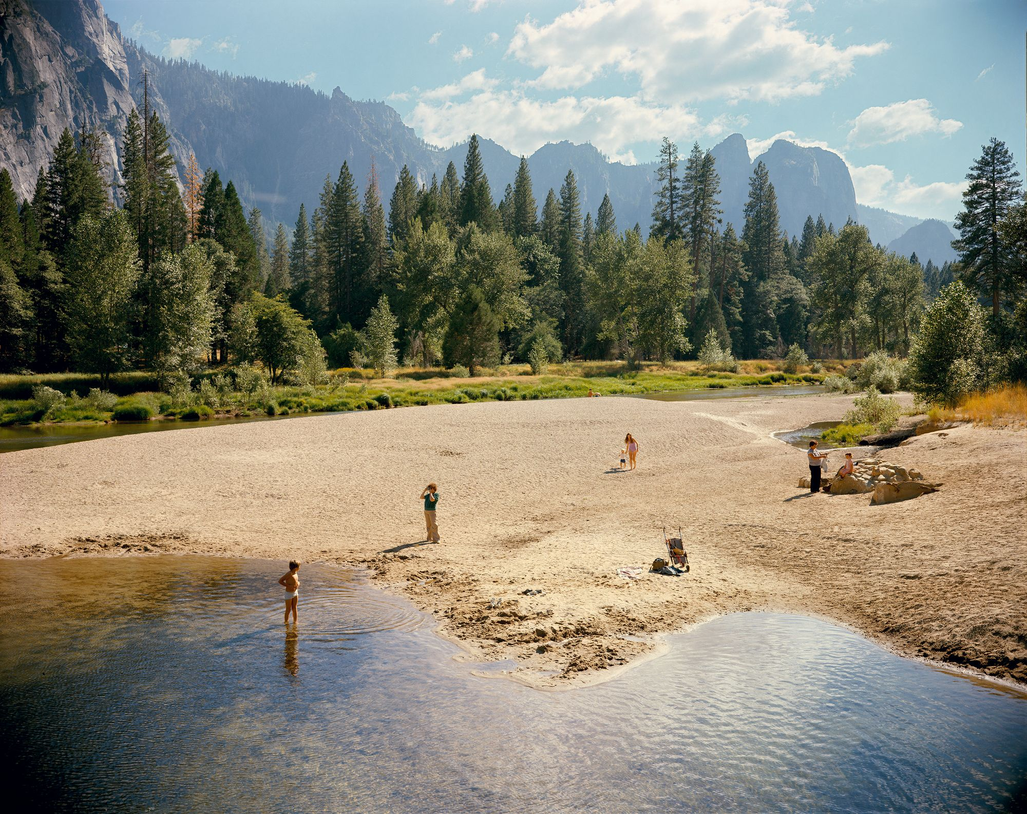 StephenShore-MercedRiverYosemiteNationalPark-California1979
