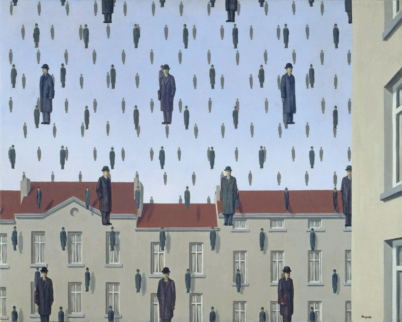 ReneMagritte.Golconda