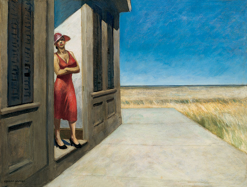 EdwardHopper-CarolinaMorning