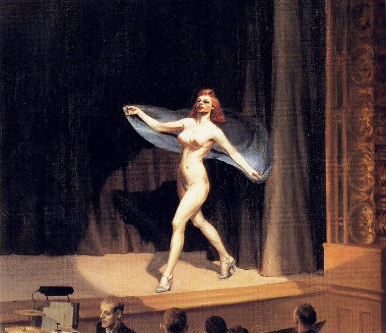 EdwardHopper-GirlieShow1941