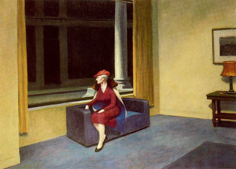 EdwardHopper-HotelWindow1955