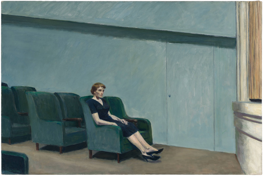 EdwardHopper-Intermission1963-sfmoma