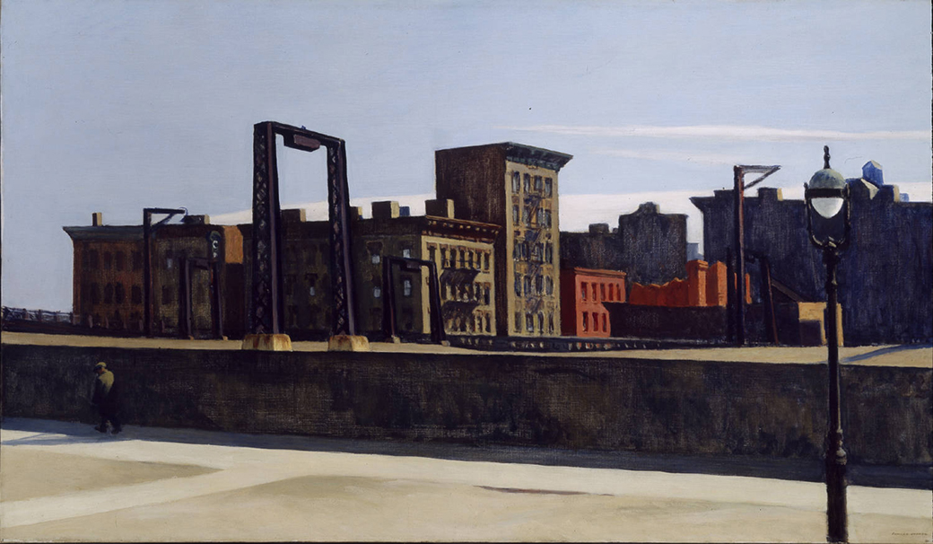 EdwardHopper-ManhattanBridgeLoop