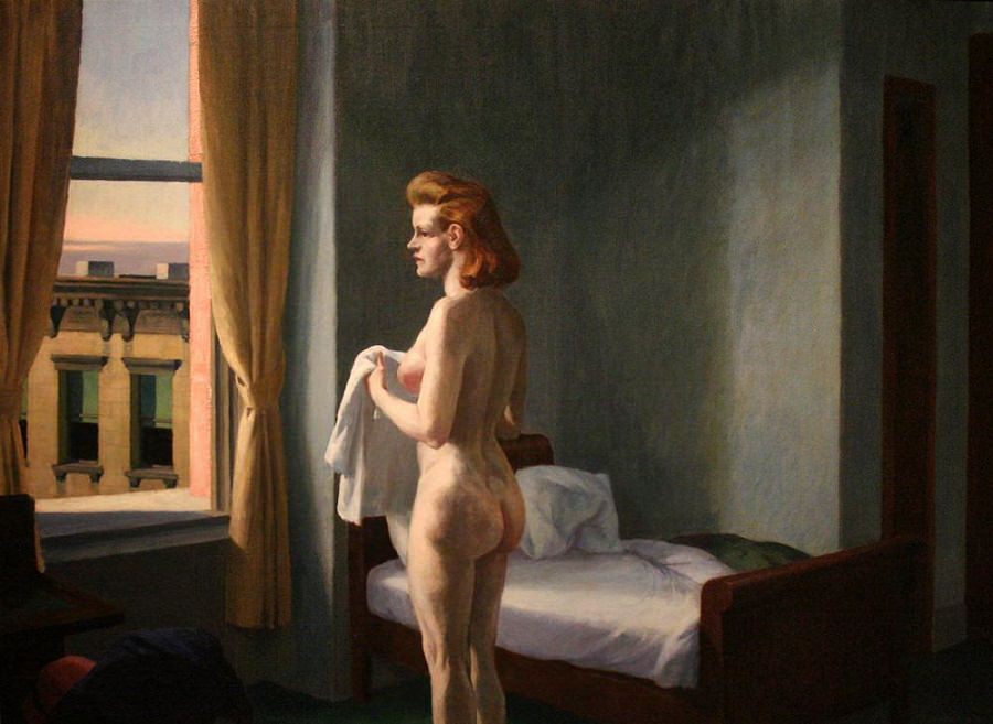 EdwardHopper-MorningInACity1944