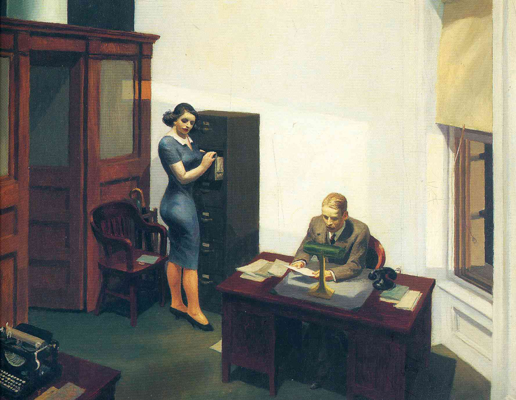 EdwardHopper-OfficeAtNight1940--2-