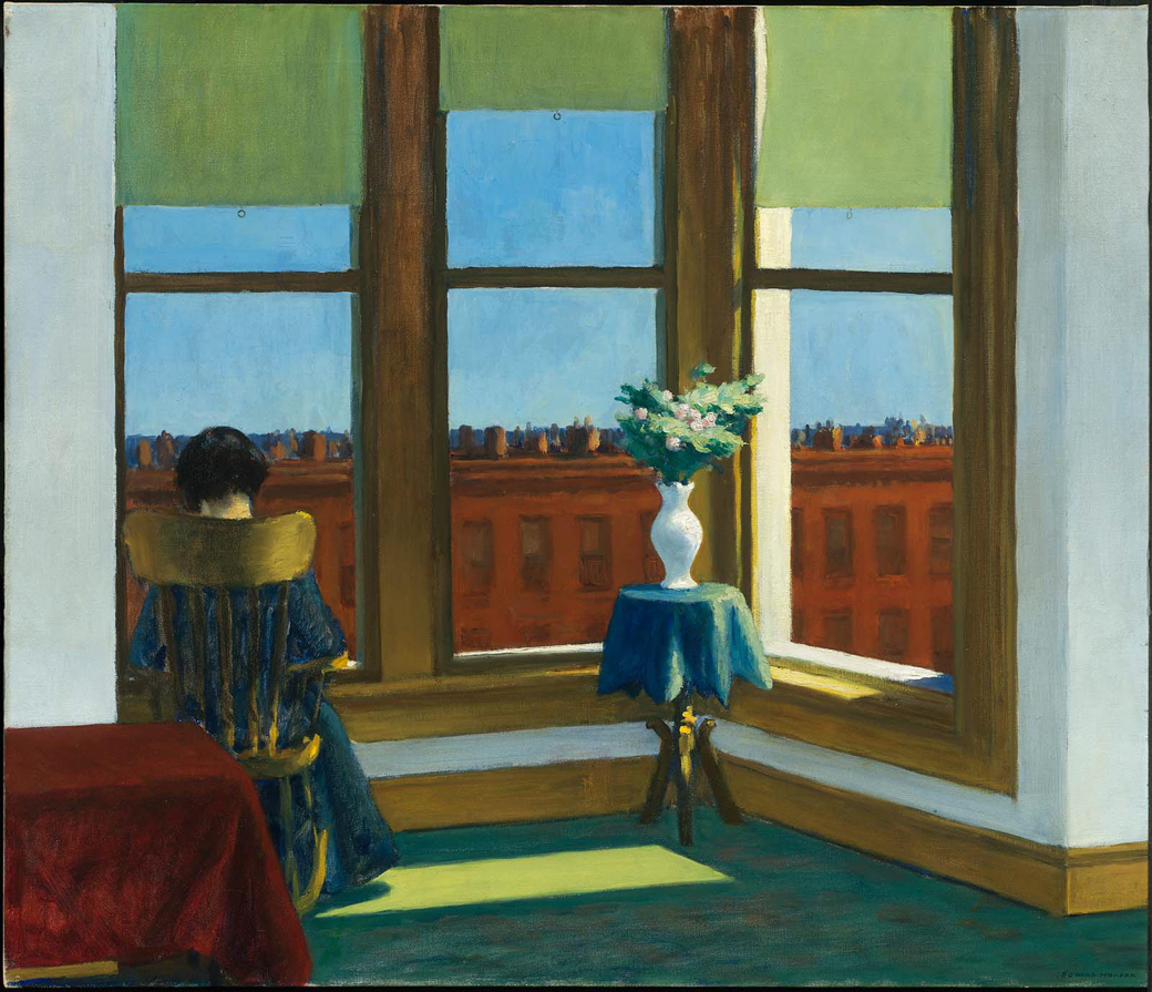 EdwardHopper-RoomInBrooklyn