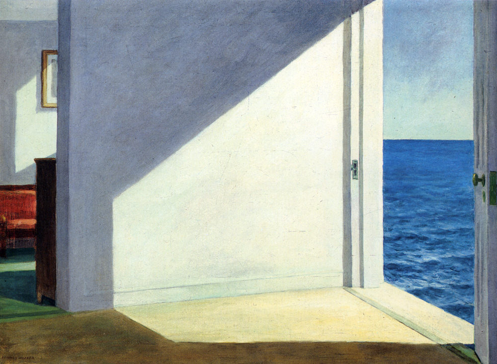 EdwardHopper-RoomsByTheSea1951