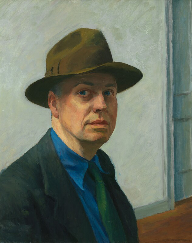 EdwardHopper-SelfPortrait-Whitney