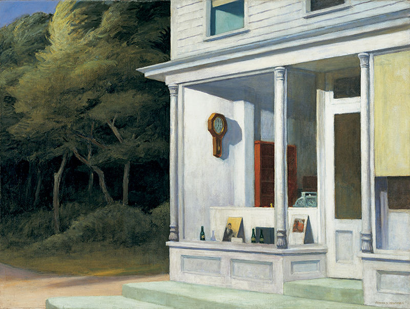 EdwardHopper-SevenAM1948-whitney