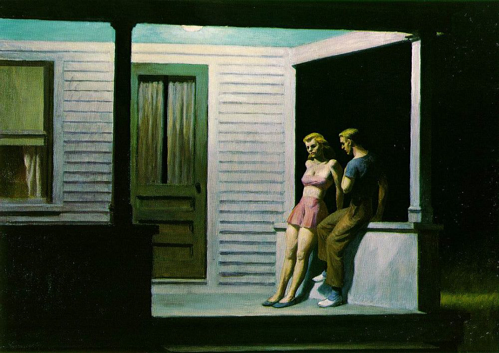 EdwardHopper-SummerEvening1947
