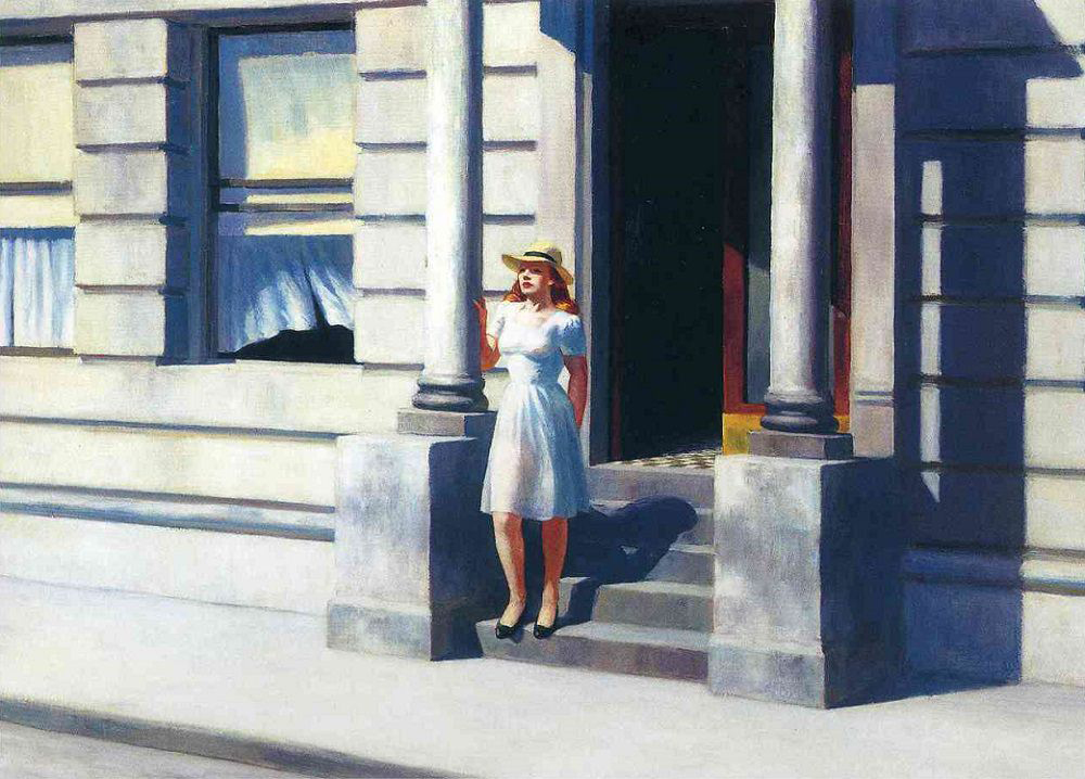 EdwardHopper-Summertime1943