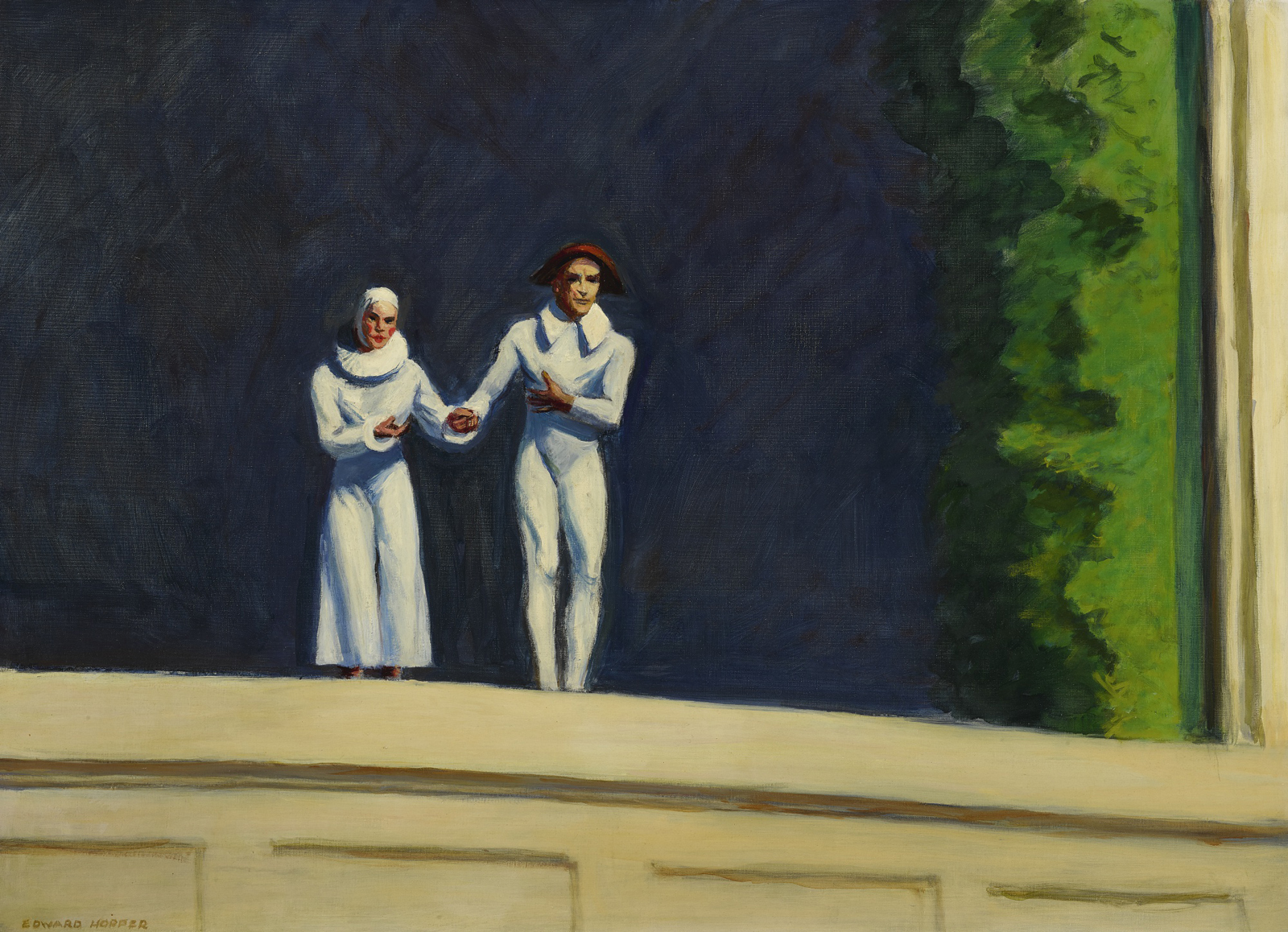 EdwardHopper-TwoCommedians1965_x1600