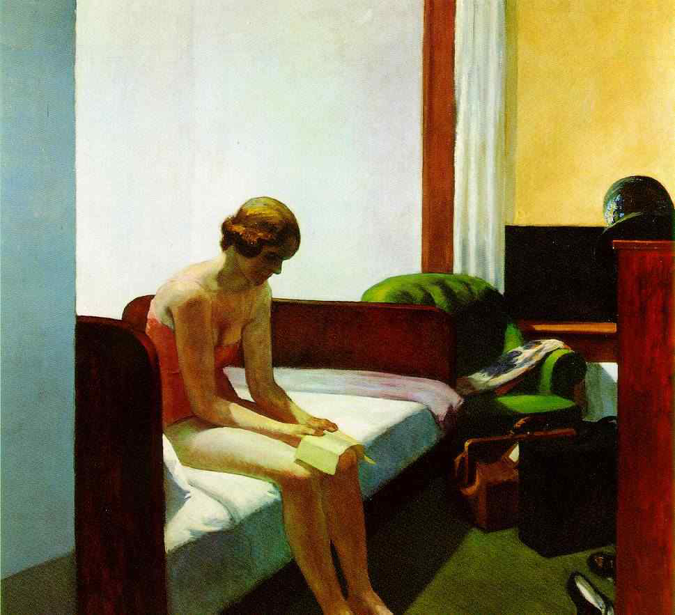 EdwardHopper-hotel-room1931