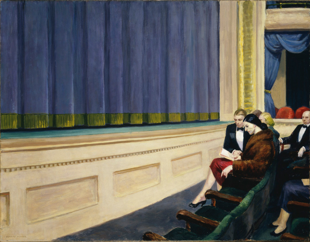 Edward_Hopper-FirstRowOrchestra