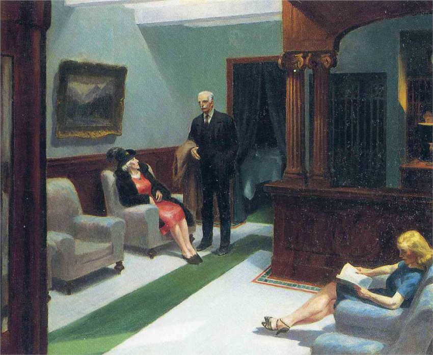 Edward_Hopper-HotelLobby1943