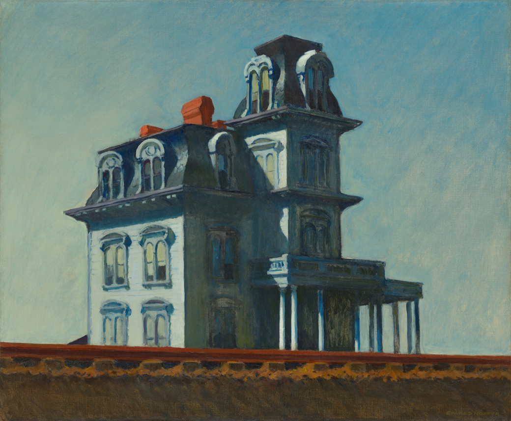 Edward_Hopper-HouseByTheRailroad1925-moma
