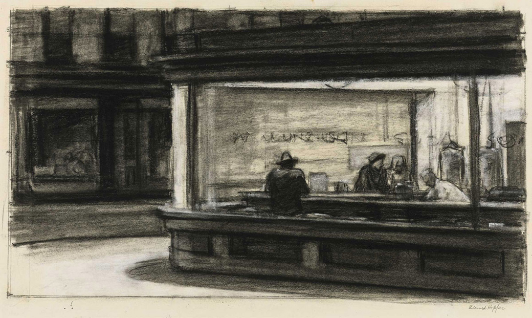 Edward_Hopper_NighthawksDrawing1942